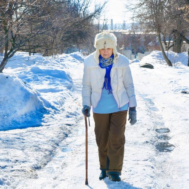 How the cold affects the skin of the elderly