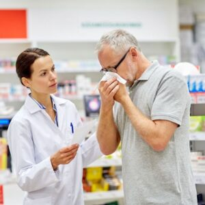 When can you take an antihistamine without a prescription?