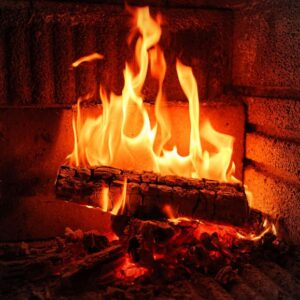 Do you like to warm yourself with the fireplace in winter?  How to avoid possible dangers