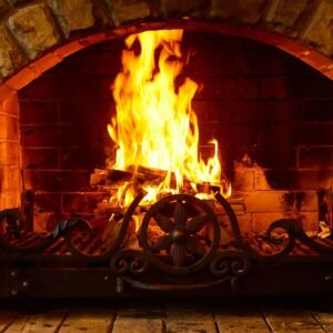 How to light the fireplace without filling your house with smoke