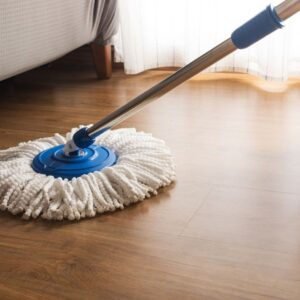 How to clean the mop and remove its bad smell