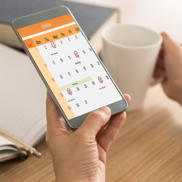 How to organize the digital agenda that you have on your mobile?