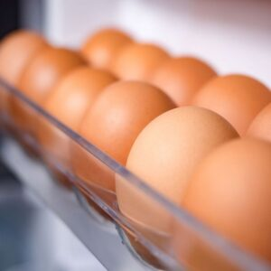 Eggs, better in or out of the fridge?