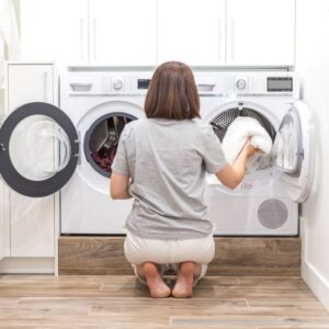 How do washing machines that incorporate WiFi work to improve their functions?